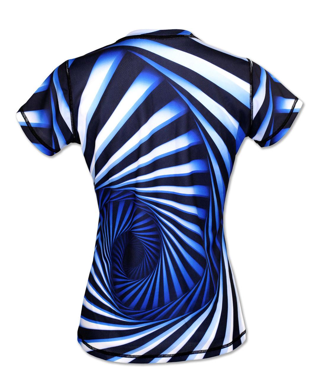 INKnBURN Women's Hypnotic Tech Shirt Back