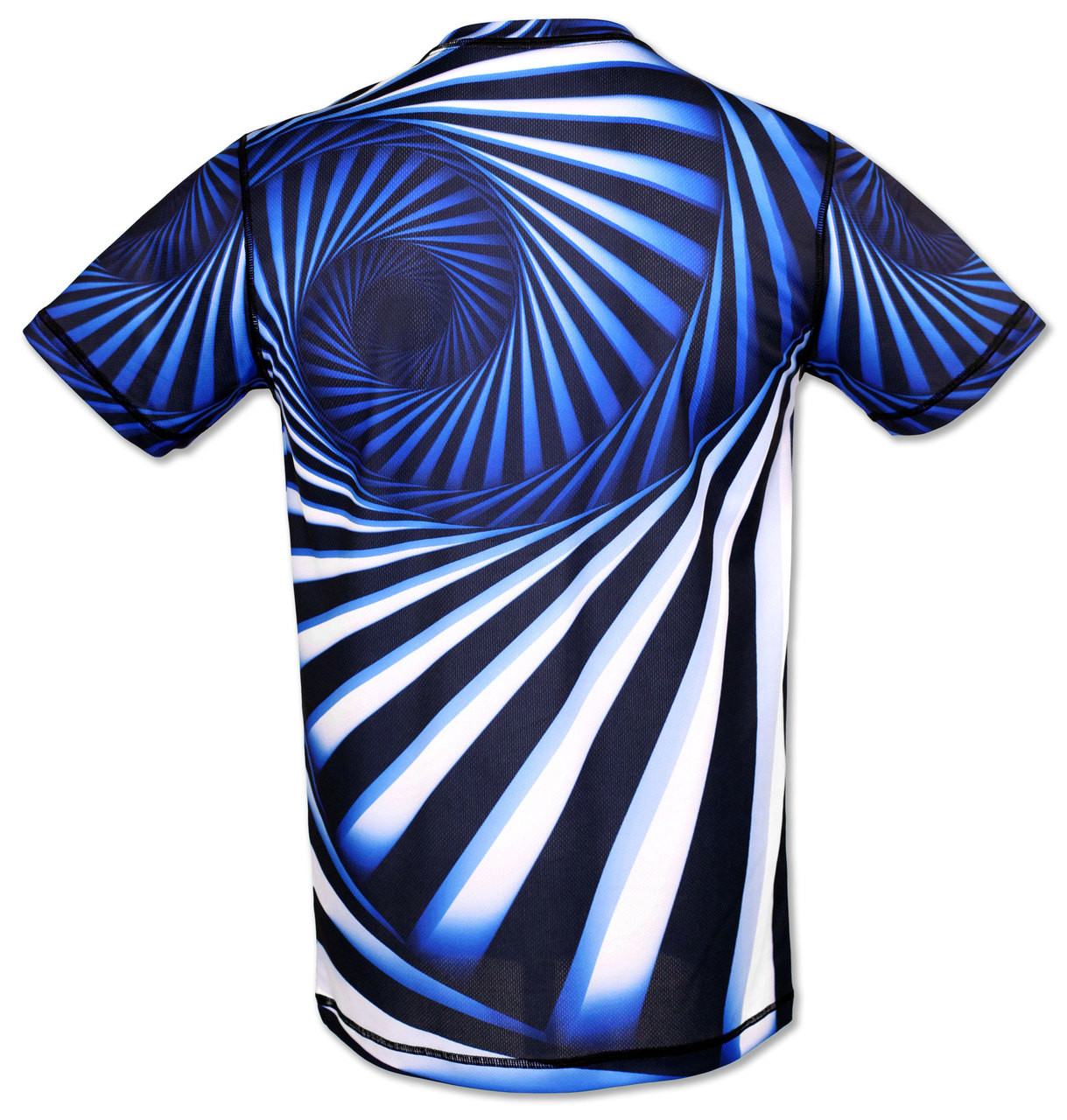 INKnBURN Men's Hypnotic Tech Shirt Back