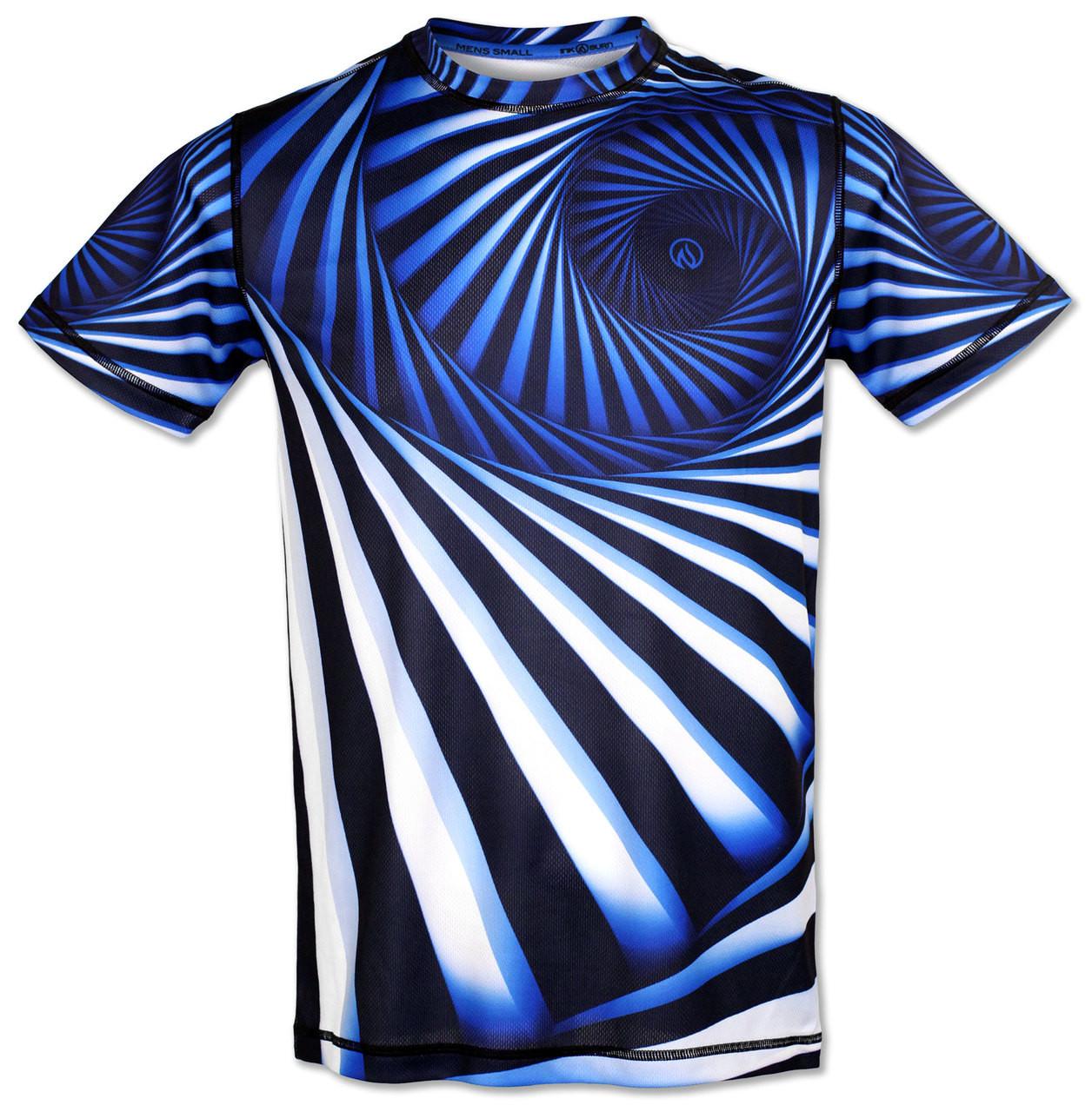 INKnBURN Men's Hypnotic Tech Shirt Front