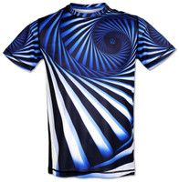 INKnBURN Men's Hypnotic Tech Shirt Front