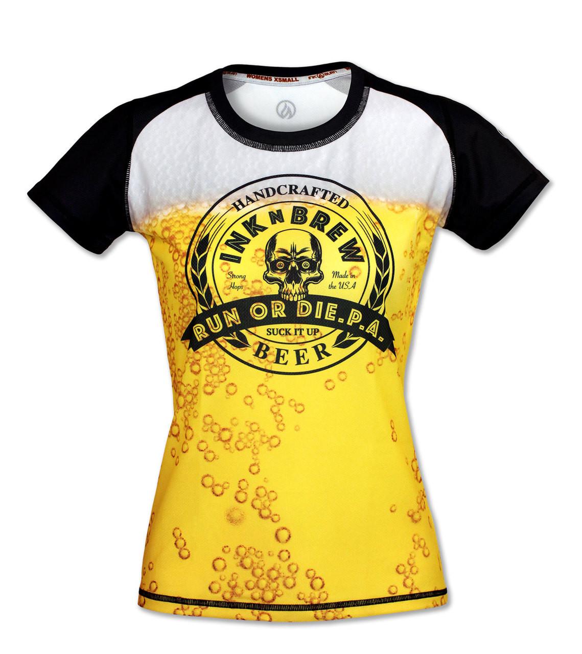 INKnBURN Women's INKnBREW Tech Shirt Front