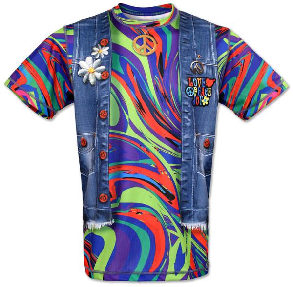 INKnBURN Peace Tech Shirt Front