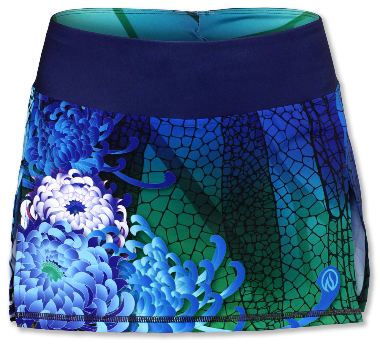 INKnBURN Dragonfly Sports Skirt Front