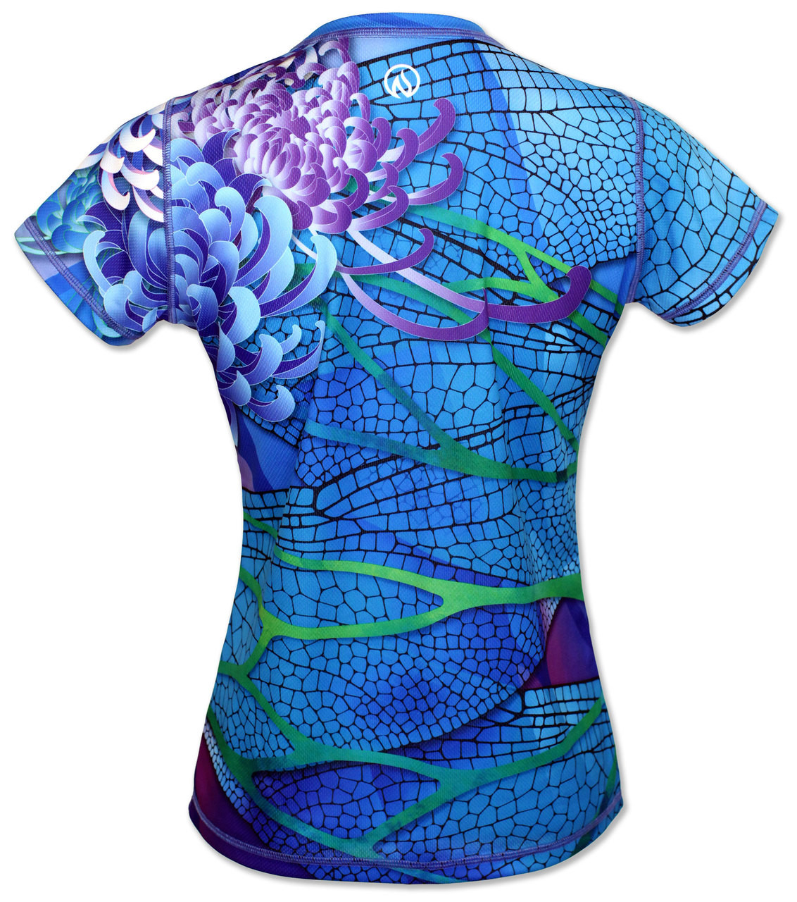 INKnBURN Dragonfly Tech Shirt Back