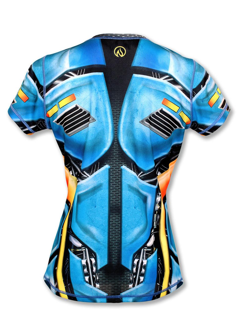 Women's XC Biodroid Tech Shirt Back