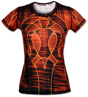 INKnBURN Women's Koa Tech Shirt Front
