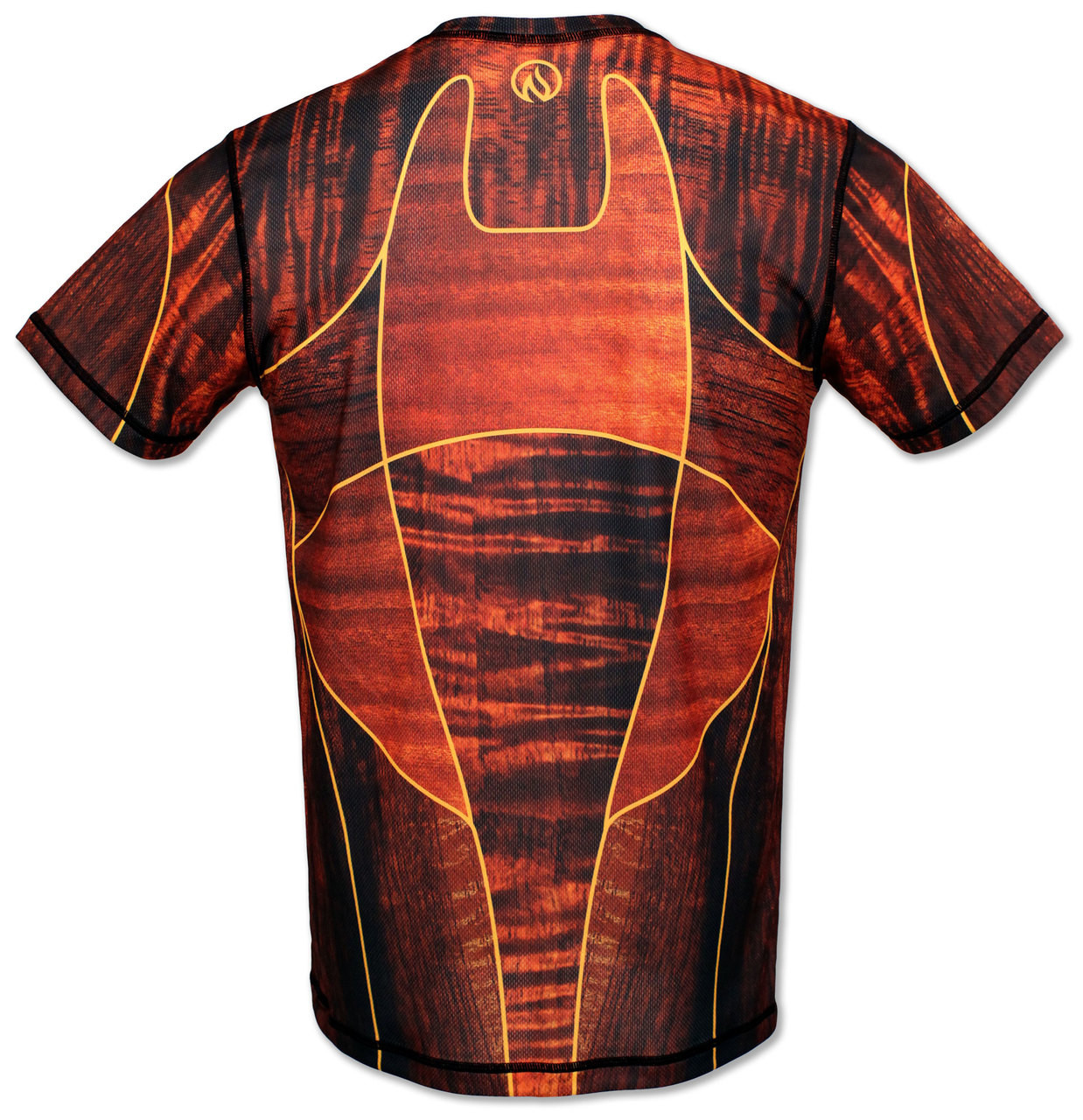 INKnBURN Koa Tech Shirt Back