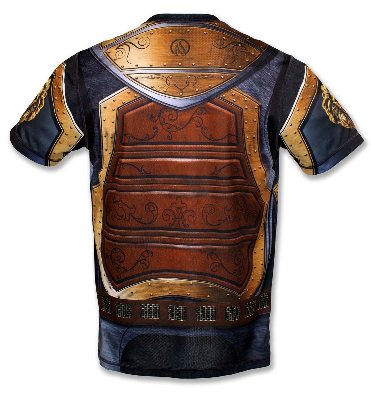 "INKnBURN Men's ""GOT Armor?"" Tech Shirt Front"
