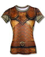 "INKnBURN Women's ""GOT Armor?"" Tech Shirt Front"