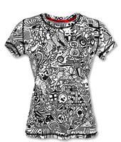 INKnBURN Women's Hidden Meanings Tech Shirt Front