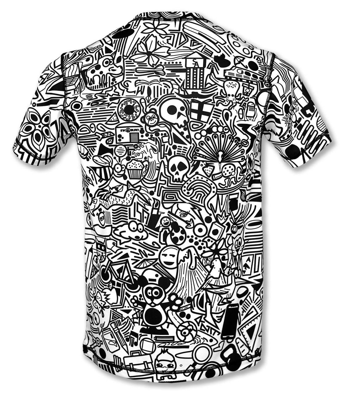 INKnBURN Men's Hidden Meanings Tech Shirt Back