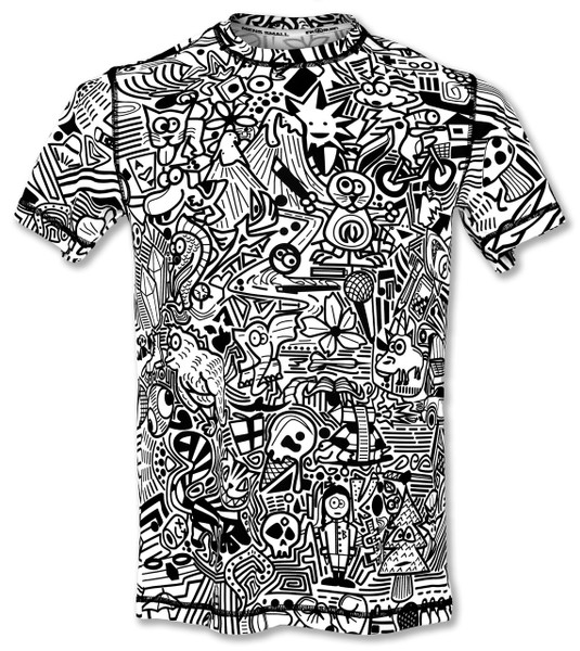 INKnBURN Men's Hidden Meanings Tech Shirt Front