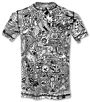 INKnBURN Men's Hidden Meanings Tech Shirt Front