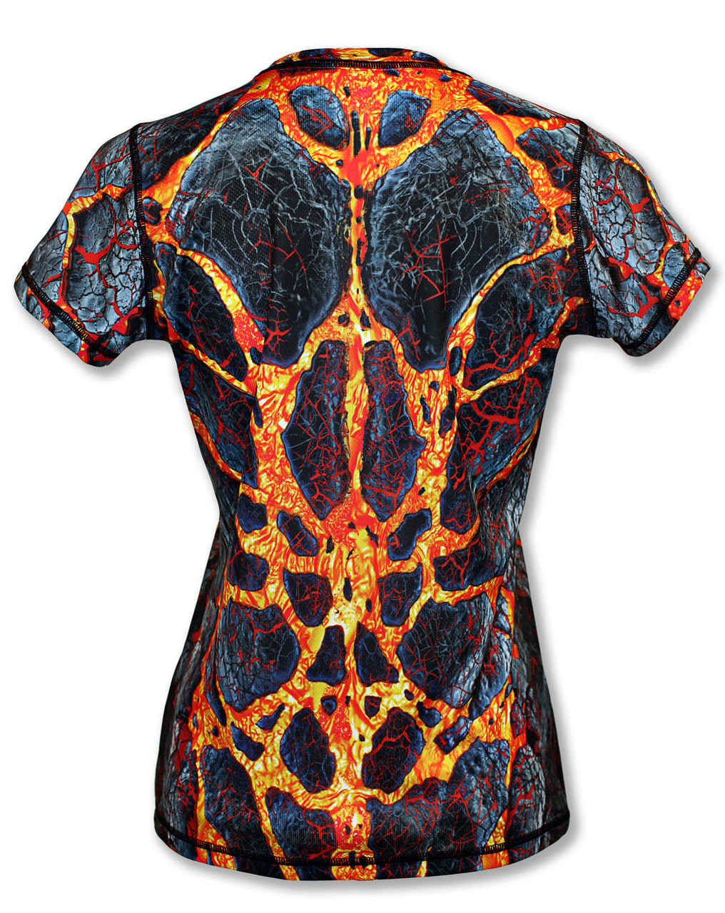 INKnBURN Women's Blast Tech Shirt Back