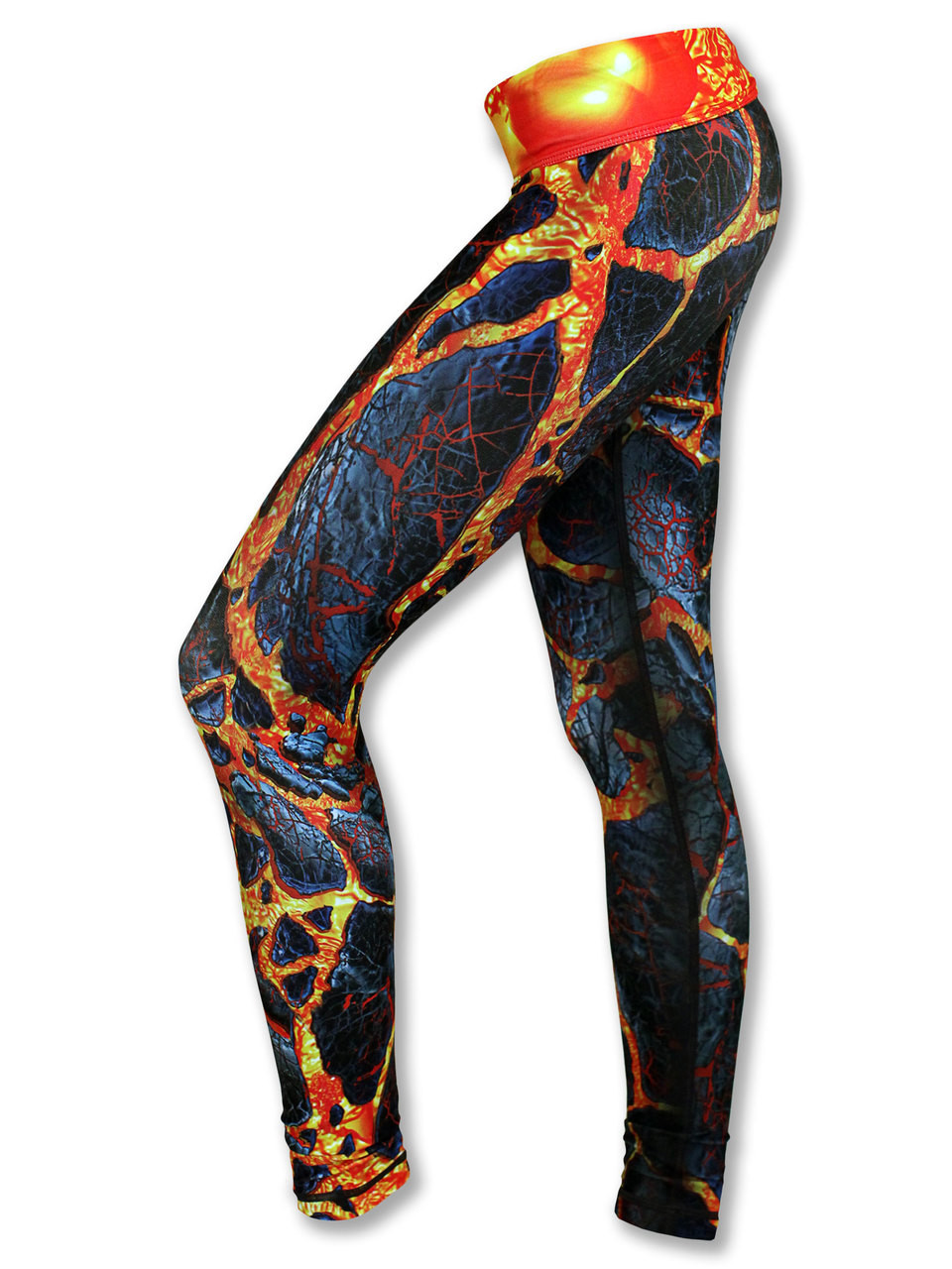 INKnBURN Women's Blast Tights Front