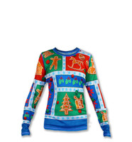 INKnBURN Girl's 2017 Holiday Long Sleeve Tech Shirt Front