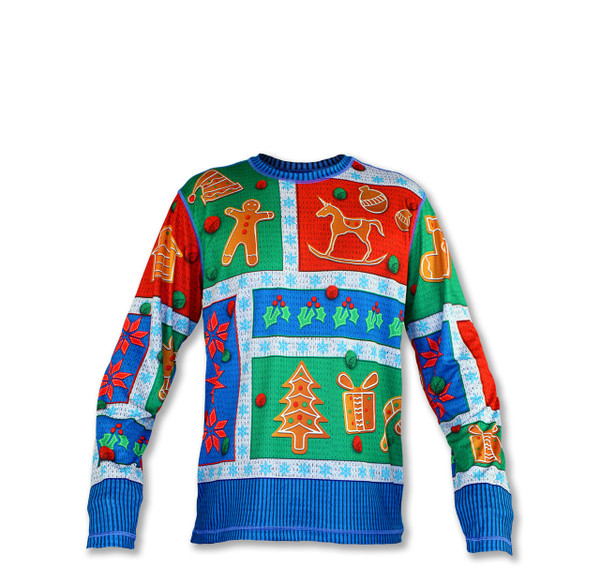 Boy's 2017 Holiday Long Sleeve Tech Shirt Front