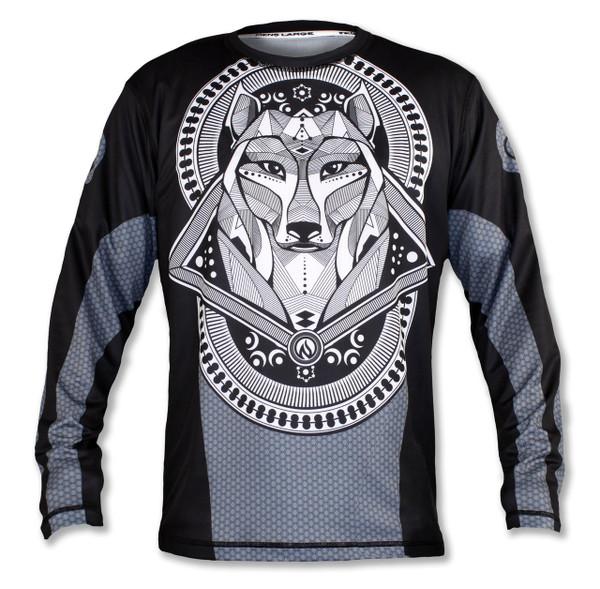 INKnBURN Men's Hatchiko Long Sleeve Tech Shirt Front