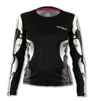 Women's Robot Long Sleeve Tech Shirt Front