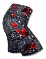 "INKnBURN Women's Plum Blossom 6"" Shorts"