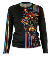 Women's Run or Die Long Sleeve Tech Shirt Front
