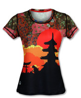 INKnBURN Women's Koyo Tech Shirt Front