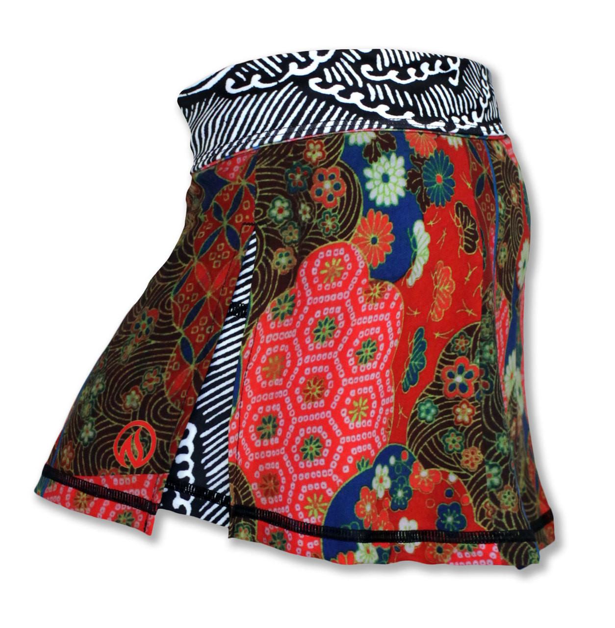 INKnBURN Women's Koyo Tech Sports Skirt Side