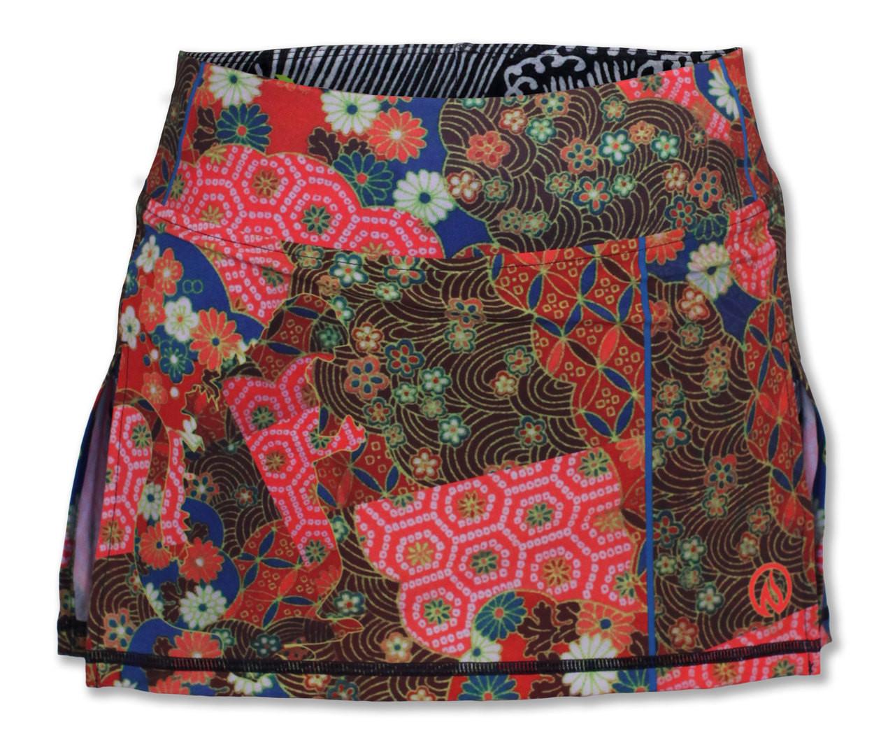 INKnBURN Women's Koyo Tech Sports Skirt Back