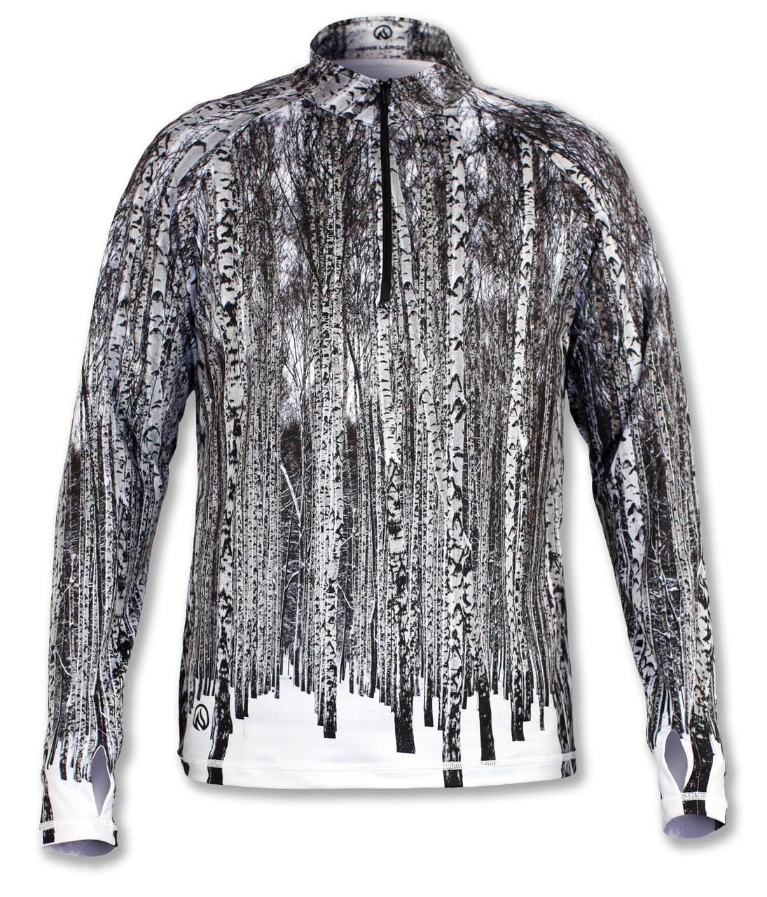 INKnBURN Men's 1/4 Zip Pullover with Thumbholes Front