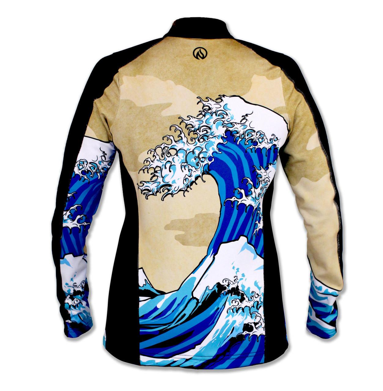 INKnBURN Women's Wave Jacket Back