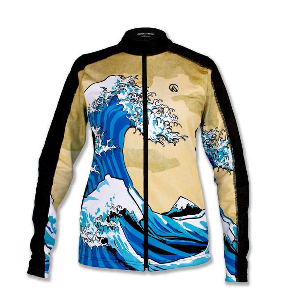 INKnBURN Women's Wave Jacket Front