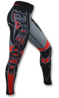 Women's Haida Tights Right Side Waistband Up