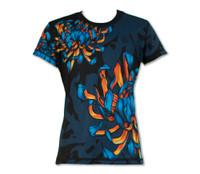 Girl's Bloom! Tech Shirt Front