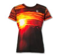 Girl's House of the Sun Tech Shirt Front