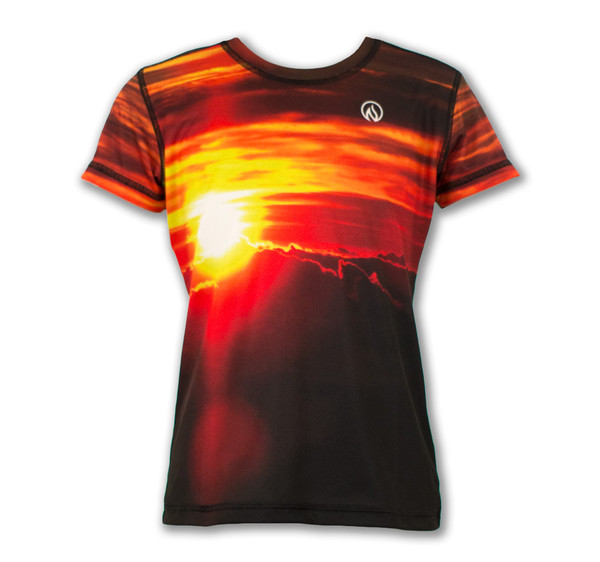Girl's House of the Sun Tech Shirt Front