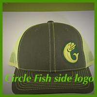 circle fish hat