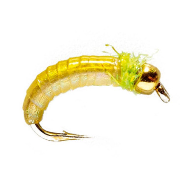 Hise's Gooey Caddis Larva