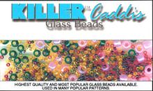 Killer Caddis Glass Beads