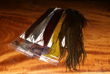 Keough Grade #1 Grizzly Dry Fly Half Saddles