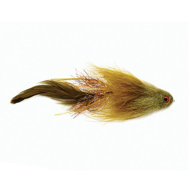 Schmidt's Viking Midge Articulated Streamer- Olive