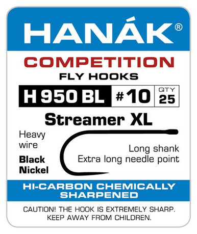 Hanak H 950 BL Streamer XL Fly Tying Hook