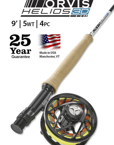 Orvis Helios 3D (Distance) 905-4 Fly Rod
