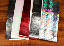 Chocklett's Sili Skin (Left to Right- Peacock, Mother of Pearl, Metallic Red,  Metallic Silver, Prismatic Silver)