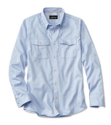 Orvis Clearwater Fishing Shirt (Lt. Blue)