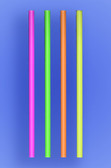 "JUMBO STRAW 10.25"" - NEON - 30/250 (7,500/case)"