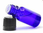 15ml Cobalt Blue Euro Dropper Bottle