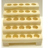 1 oz [30 ml] Wooden Roll On Display [25 Count]