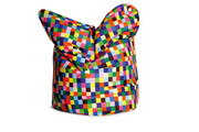 Sitting Bull Fashion Bean Bag - Happy Pixels