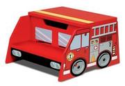 KidKraft Fire Truck Step n Store