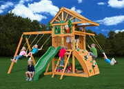 Gorilla Playsets Ovation - Wood Roof